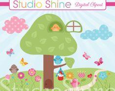 Hummingbird Clipart Sweet Sweet Nectar Colorful by StudioShine