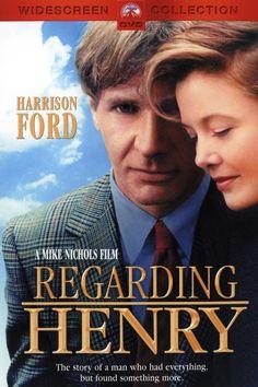 The beautiful US Drama Film (Regarding Henry)Stars:Harrison Ford, Annette Bening, Michael Haley