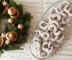 Vanilkové rohlíčky z pohankové mouky
