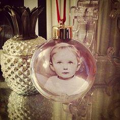 Diy Christmas Photo Bauble