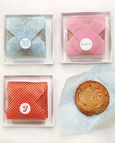Cookie Envelope - Martha Stewart Crafting