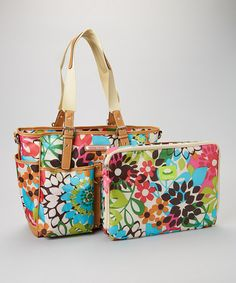 Look what I found on #zulily! La Isla Bonita Computer Tote & Sleeve by Lily Bloom #zulilyfinds