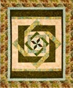 Labyrinth pattern queen size