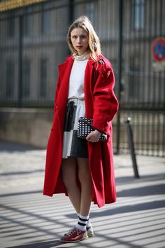 84 Outfit Ideas For Style Extroverts #refinery29  http://www.refinery29.com/2015/03/83675/paris-fashion-week-2015-street-style#slide-28  Next time, just pay the fine at the bowling alley and walk out with their shoes.