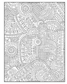 Diabolically Detailed Coloring Book (Volume 4) (Art-Filled Fun Coloring Books):
