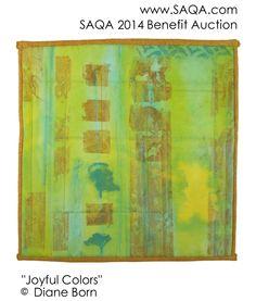 Art quilt by Diane Born