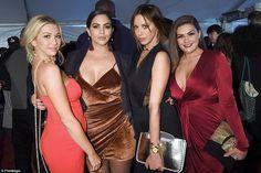 Breaking the rules: Vanderpump Rules stars (L-R) Stassi Schroeder, Katie Maloney, Kristen ...