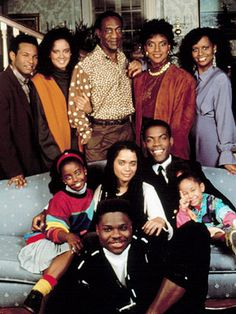 The Cosby Show was taped in front of a live studio audience.