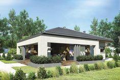 DOM.PL™ - Projekt domu Mój dom Przemuś CE - DOM BR1-26 - gotowy koszt budowy Gazebo, Outdoor Structures, Outdoor Decor, Image, Home Decor, Homemade Home Decor, Kiosk, Pavilion, Interior Design