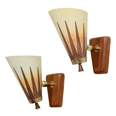 1stdibs | A+Pair+of+Mid+Century+Articulated+Modern+Sconces