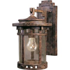 Maxim Lighting Santa Barbara Cast 1-Light Outdoor Wall Lantern & Reviews | Wayfair
