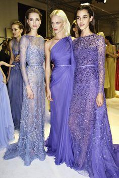 Elie Saab spring 2014 couture backstage