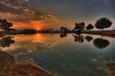 Sunrise Reflections by Static Sparks