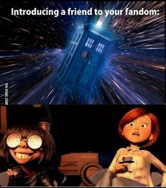 Introducing a friend to your fandom | Doctor Who | The Incredibles