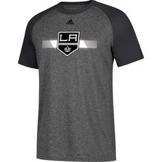 adidas Men's Los Angeles Kings Resurface Ultimate Grey Performance T-Shirt, Size: Medium, Team