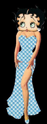 Betty Boop ,Gifs Betty Boop com glitter, Transparentes, - CANTINHO ENCANTADO