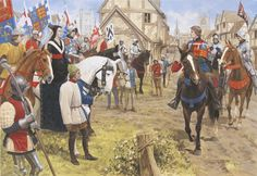Tewkesbury - The Lancastrians rebuffed at Gloucester- by Graham Turner