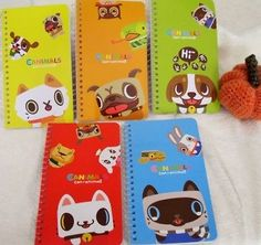 Canimals--Canimals One Ring Notebook (Set of 5 Notebooks)