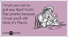 Happy April Fool's