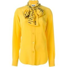 Moschino ruler pussybow blouse