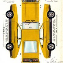 Captivating Paper Car : Picture Search Results Mustangattitude Paper Car Models Paper Car Project