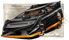 15 Best Dirt Race Car Illustrations Art Images In 2017 Car