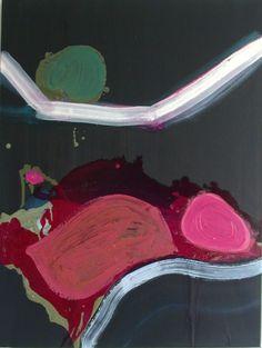 Anna Davanzo: Road Journey 2, 2012 #art #painting #abstractart