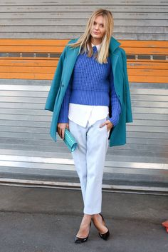 New York Fashion Week Fall 2013 #NYFW #StreetStyle - one of my FAV bloggers! Tuula