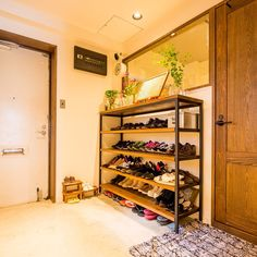 Shoe Cupboard, Cupboard Storage, House Entrance, Home Deco, Shoe Rack, My House, New Homes, Architecture, Interior