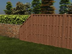 This unique slanted fence panel is manufactured from quality spruce and is fully pressure treated, therefore we can offer a genuine 10 year guarantee without the need for you to retreat it in that period. It features 3 8mm boards that give it a total thickness of 64mm. The main boards on either side of the support overlap each other such that you can't see through the gaps in the panel which ensure the fence is strong, resilient and offers a degree of privacy.