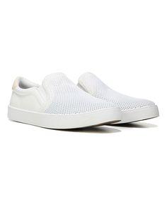 Super White Luna Madison Suede Sneaker