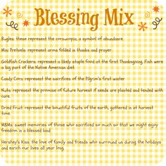 Thanksgiving Blessing Mix tag