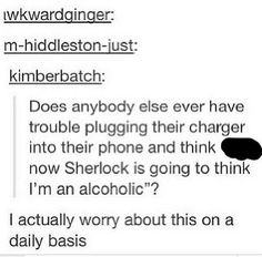 "I actually think, every single night, ""well I guess Sherlock was wrong! You WILL see a sober person's phone with those marks.""<-- that comment Lol Sherlock Bbc, Sherlock Fandom, Funny Sherlock, Just For Gags, Just For You, Detective, Nos4a2, Mrs Hudson, Sherlolly"