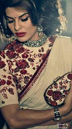 Pinterest: @Littlehub  || Sabyasachi~❤。An Exquisite Clothing World || Saree