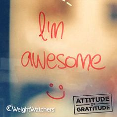 Take on the Attitude of Gratitude Challenge this week.   Start the day with a smile and a confidence boost by giving yourself a compliment. Make it real by saying it out loud and sharing with us.