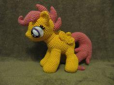 Scootaloo Pattern  My Little Pony by NerdyKnitterDesigns on Etsy, $4.95