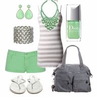 love this cute summer outfit!!