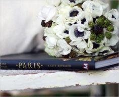Using blackberries in the bouquet...