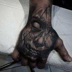 #evil #devil #demon #horror #Black #dark #scary #face #hand #detail