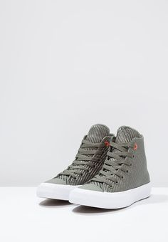 Converse CHUCK TAYLOR ALL STAR CAMPUS - High-top trainers - white/bold mandarin 2YIcuXSK4