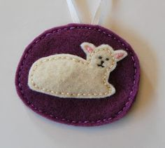 """C"" is for Crafty: Felt Jesse Tree Ornaments"