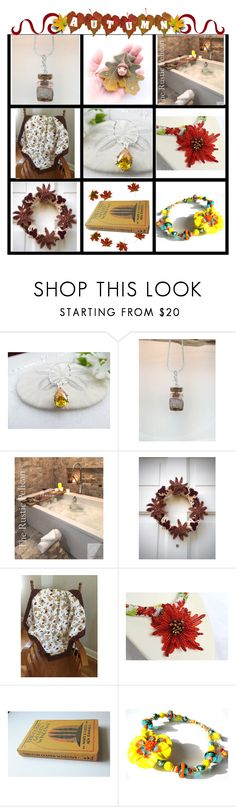 """""""Lovely Autumn"""" by belladonnasjoy ❤ liked on Polyvore featuring modern"""