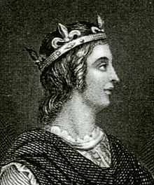 Eadwig, more rarely Edwy (941? – 1 October 959), sometimes nicknamed All-Fair or the Fair, was King of England from 955 until his death four years later. The eldest son of King Edmund and Ælfgifu of Shaftesbury, Eadwig was chosen by the nobility to succeed his uncle Eadred as King. His short reign was marked by ongoing conflicts with his family, thegns, and especially the Church, under the leadership of Saint Dunstan and Archbishop Odo.