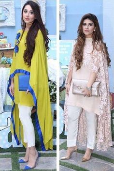 This summer season try the trendy Cape Kurtis. Know the various Cape Style Kurti Designs and patterns that are perfect for any casual occasion. Pakistani Cape Dresses, Indian Dresses, Indian Outfits, Indian Attire, Indian Wear, African Fashion, Indian Fashion, Abaya Fashion, Fashion Outfits