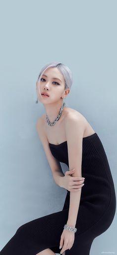 Beautiful Girl Makeup, Rose Park, Rose Wallpaper, Blackpink Photos, Tiffany And Co, Blackpink Lisa, Blackpink Jennie, Girls Makeup, Park Chaeyoung