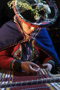 Peruvian woman   by John Hutchins on Flickr