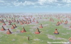 Big Indian camp by Michael Rosskothen