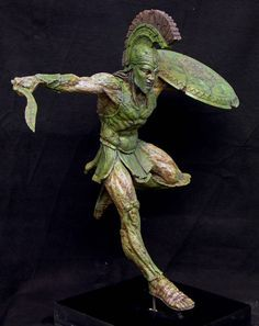 david grasso spartan mummy sculpt - Google Search