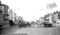 Photo of Worthing, 1921 from Francis Frith Worthing, Local History, Sidewalk, Street View, Places, Pictures, Image, Photos, Side Walkway