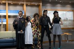 #Halloween 2013 staff costume contest.  AND THE WINNERS ARE......